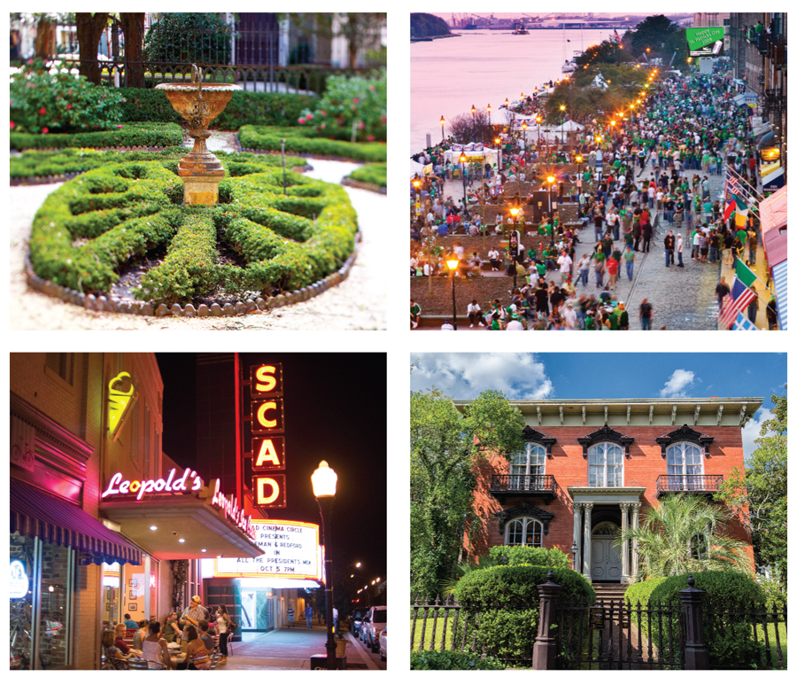 INFO: ©savannahga.gov andVisitSavannah.com Photos: ©VisitSavannah.com and istockphoto.com