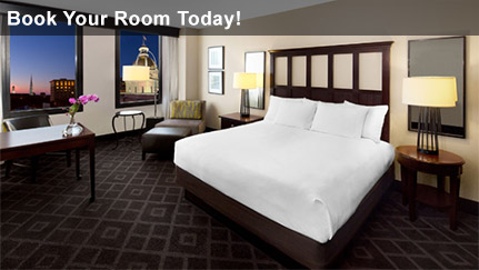 Book your hotel room today!